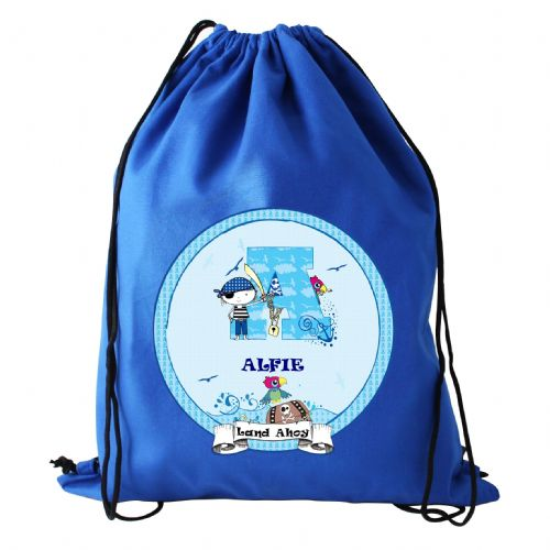 Personalised Pirate Swim Bag